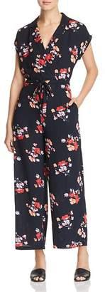 Vero Moda Kaya Floral-Print Jumpsuit