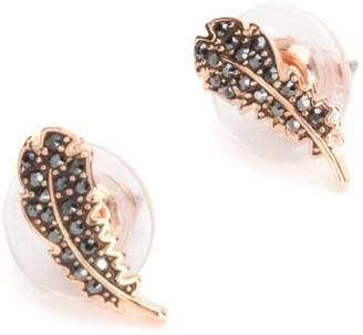 Swarovski Naughty Pierced Feather Earrings