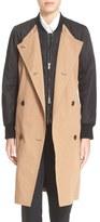 3.1 Phillip Lim Nylon Sleeve Trench Coat