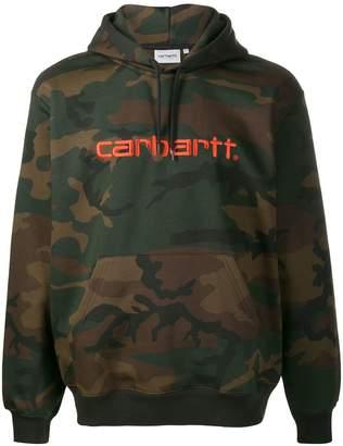 Carhartt WIP camouflage print hoodie