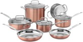 Cuisinart 11-piece Copper-Finish Stainless Steel Cookware Set
