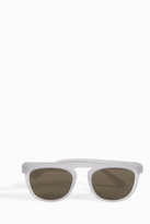 Maison Margiela Flat Top Aviator Sunglasses