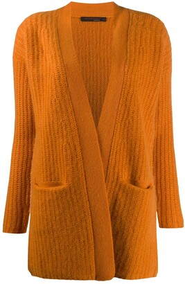 Incentive! Cashmere Open-Front Cashmere Cardigan