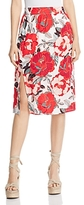 Cupcakes And Cashmere Linden Floral Pencil Skirt