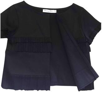 Christian Dior Black Cotton Knitwear for Women