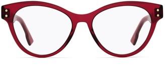 Christian Dior Cat Eye Frame Glasses