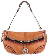 Etro Studded Leather Shoulder Bag