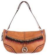 Etro Studded Leather Shoulder Bag
