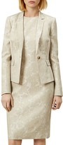 Hobbs London Faye Printed Linen Jacket