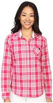 U.S. Polo Assn. Cotton Poplin Plaid Long Sleeve Woven Shirt