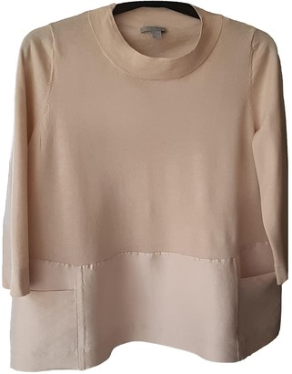 Cos Beige Wool Top for Women