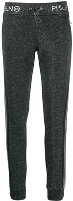 Philipp Plein Striped Sweatpants