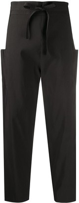 Maison Rabih Kayrouz high-waisted tapered trousers