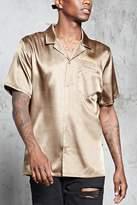 Forever 21 Calabasas Satin Shirt