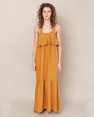Beaumont Organic Arya May Dress Sun - Size XS