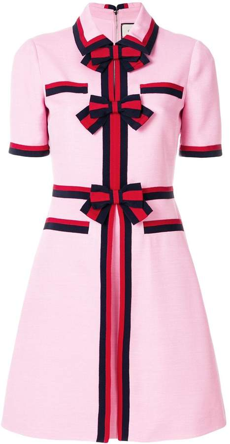 7965998cf Gucci Pink Dresses - ShopStyle
