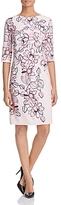 Basler Floral Print Shift Dress