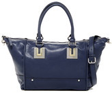 French Connection Arden Faux Leather Convertible Shoulder Bag