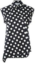 Christian Wijnants 'Talla' polka dots shirt - women - Cotton - 36