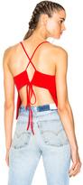 Soyer for FWRD Bella Cami Tank Top in Red.