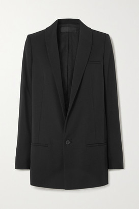 Haider Ackermann Wool Grain De Poudre Blazer - Black