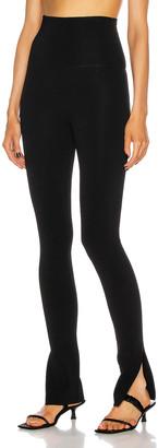 KHAITE Roonie Legging in Black | FWRD
