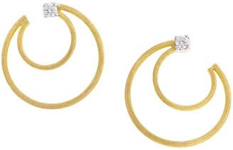 Marco Bicego Luce 18K Yellow Gold 0.20 Ct. Tw. Diamond Earrings