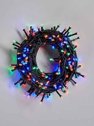 Festive 200 Battery Operated Multicolour Indoor/Outdoor Christmas Lights