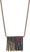 Fossil x Me to We Beaded Fringe Necklace
