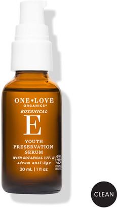 One Love Organics Botanical E Youth Preservation Serum, 1.0 oz./ 30 mL