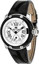 Glam Rock Women's GR40018 Palm Beach Collection Black Patent Leather Watch