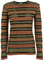 M Missoni Missoni Striped Knitted Blouse