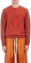 Loewe Men's Cotton Logo-Patch Sweatshirt