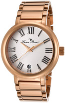 Marbella Women's Rose Gold & White Dial Round Watch