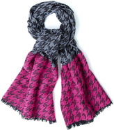 Marc by Marc Jacobs Terence Houndstooth Scarf