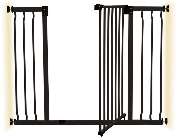 Thumbnail for your product : Dream Baby Dreambaby Liberty Xtra Wide Hallway Gate (99-105.5Cm) - Black/Metal