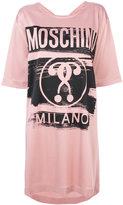 Moschino branded T-shirt dress