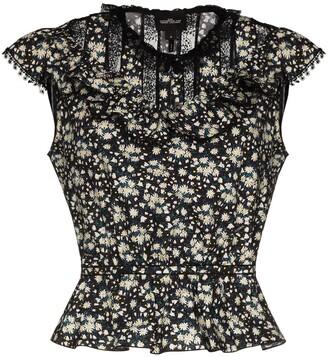 Marc Jacobs The Victorian lace trim floral top