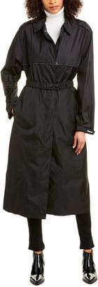 Moncler Charente Long Rain Coat