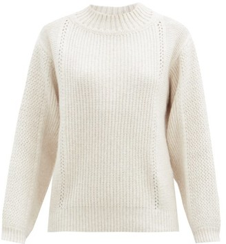 See by Chloe Ribbed Wool-blend Sweater - White