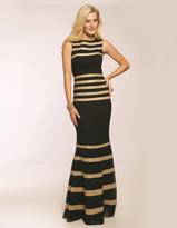 Jovani Bateau Neckline Mermaid Evening Dress JVN99244