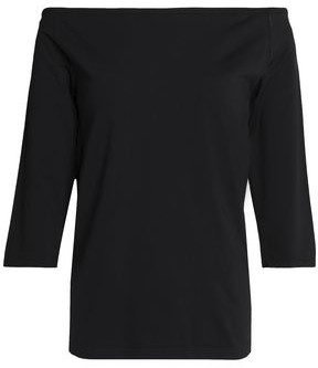 Helmut Lang Off-the-shoulder Stretch-jersey Top