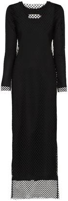 Marques Almeida Marques'Almeida net overlay maxi dress