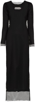 Marques Almeida Net Overlay Maxi Dress