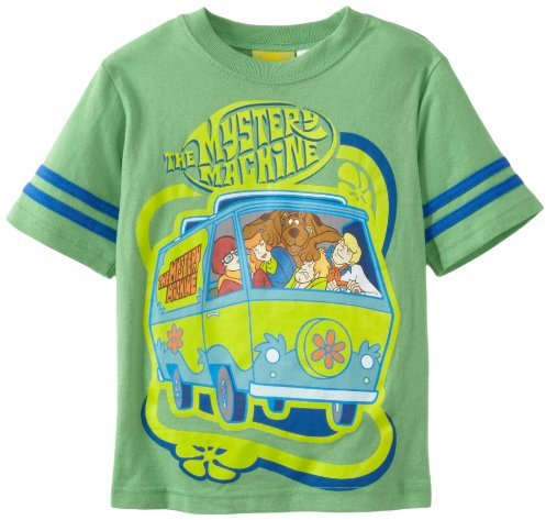 Scooby-Doo Boys 2-7 Scooby Mystery Machine Short Sleeve Tee