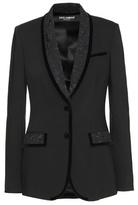 Dolce & Gabbana Wool crêpe blazer