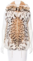 Saks Fifth Avenue Lynx Fur Vest