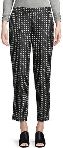 Theory Printed Pull-On Trousers