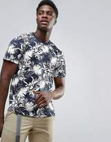 Dickies T-shirt With All Over Floral Print