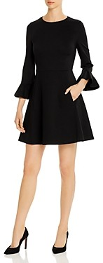 Kate Spade Bell-Sleeve Ponte Dress